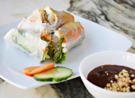 Fresh Tofu Spring Rolls