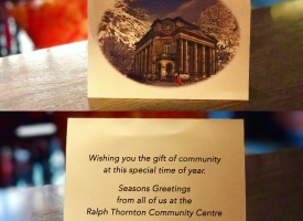 Xmas Greeting Card from Rapth Thornton Community