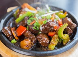 Sizzling Spicy Beef
